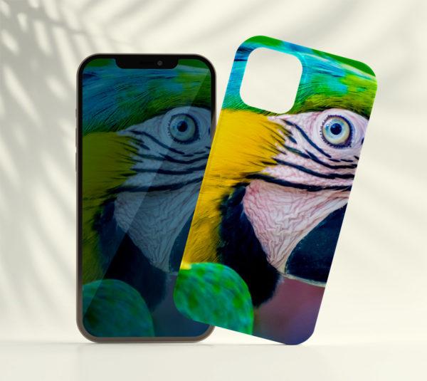 Coque smartphone Grand Ara bleu