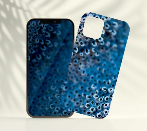 Coque smartphone Corail bleu