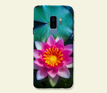 Coque smartphone Nénuphar zen