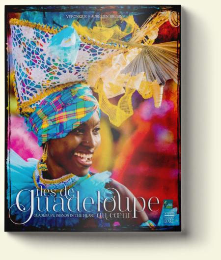 Îles de Guadeloupe au coeur, couverture