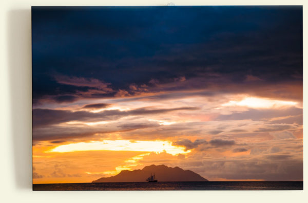 Sunset Silhouette (Seychelles)